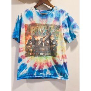 Kiss Tye Dye Tour Tee